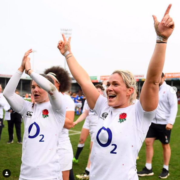 A platform to advance the women's rugby movement